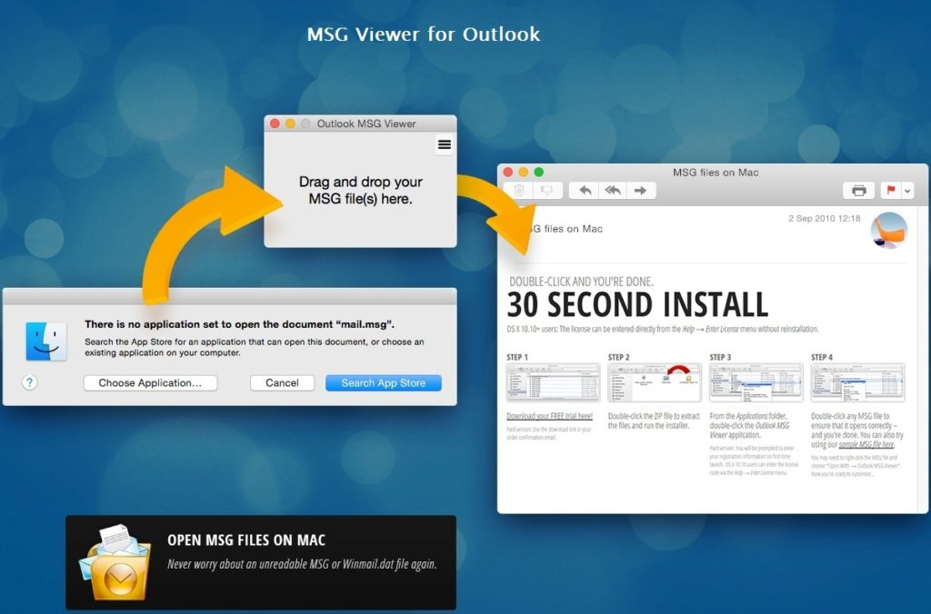 7 Best Ways to Open Outlook  MSG File on Mac – Mac OS Blog